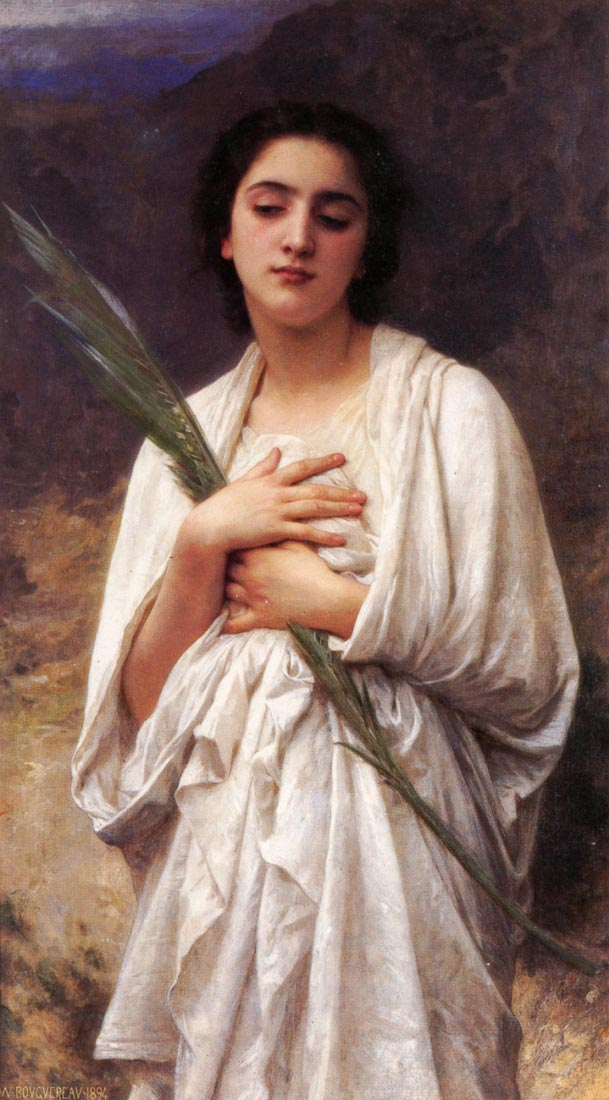 The Palm Leaf - Bouguereau