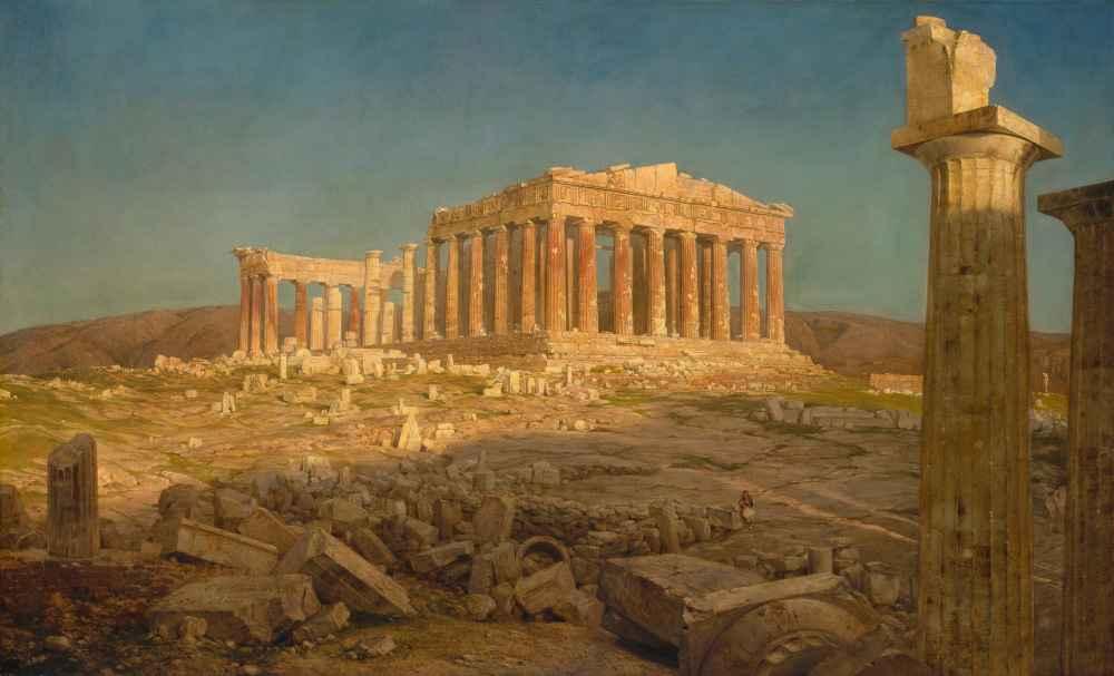 The Parthenon 2 - Frederic Edwin Church