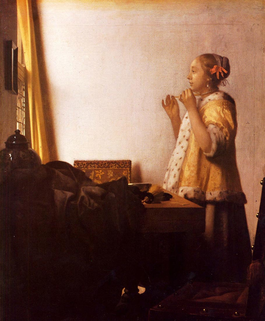 The Pearl Necklace - Vermeer