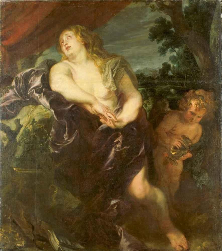 The Penitent Saint Magdalen - Antoon van Dyck