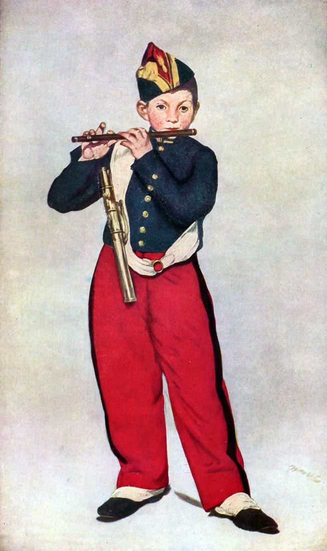 The Piper - Manet