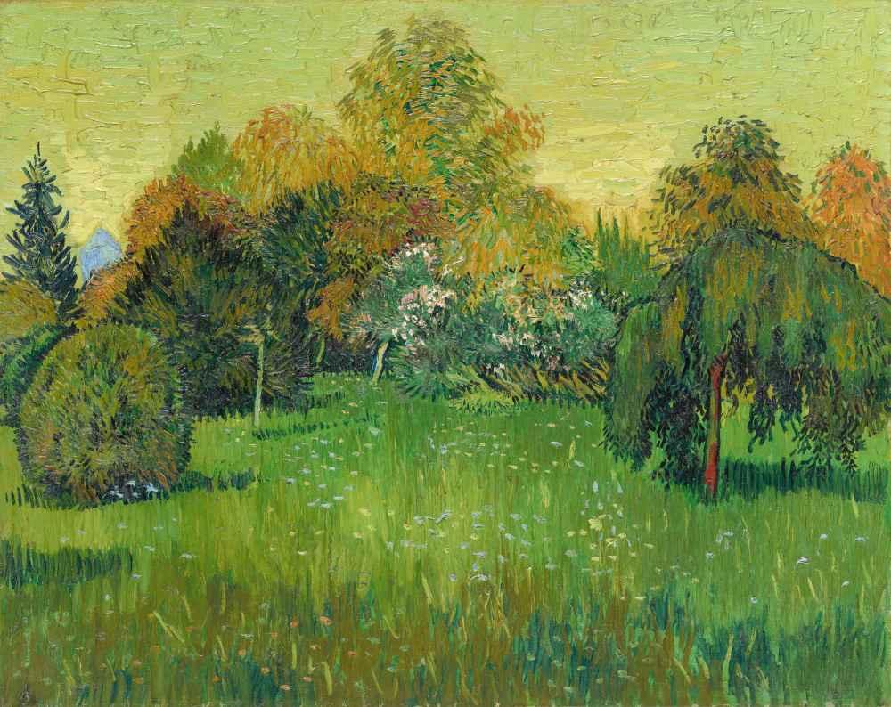 The Poet's Garden - Vincent van Gogh