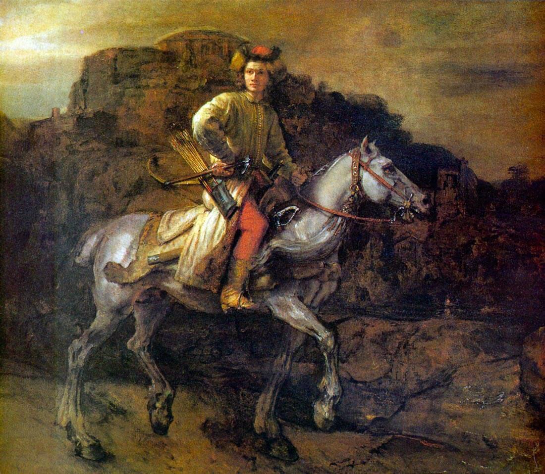 The Polish Rider - Rembrandt