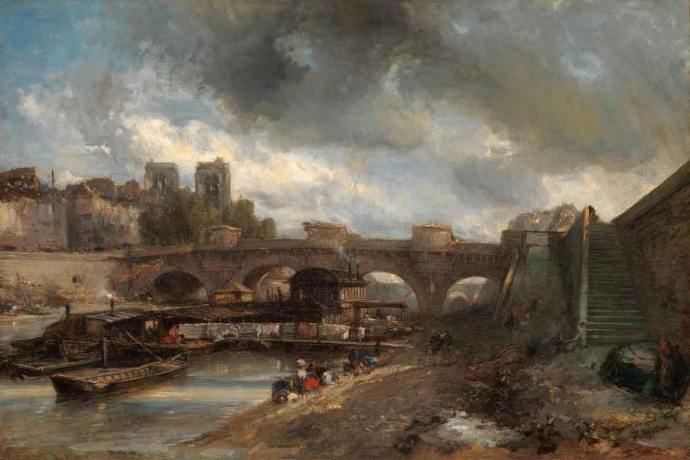 The Pont Neuf - Johan Barthold Jongkind