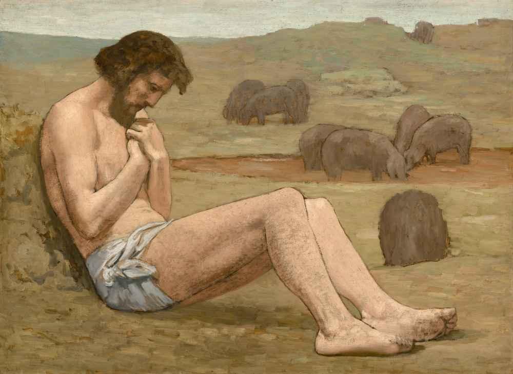 The Prodigal Son - Pierre Puvis de Chavannes