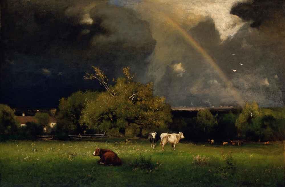 The Rainbow - George Inness