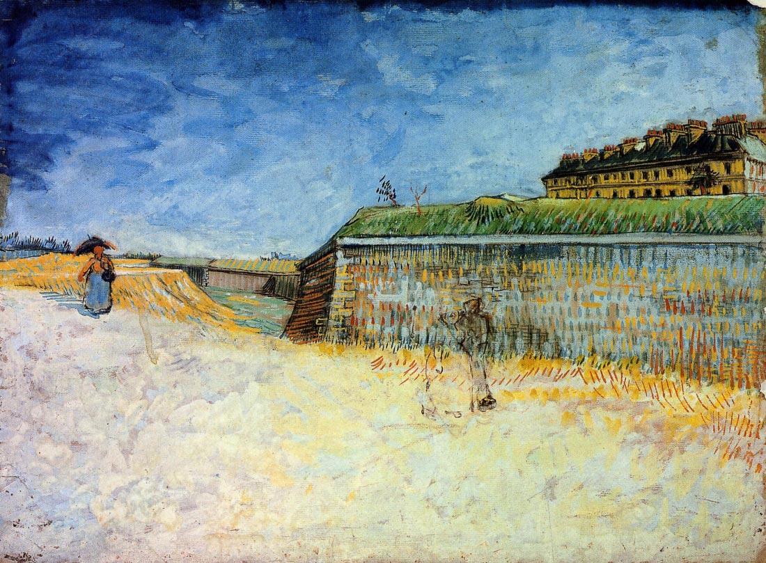 The Ramparts of Paris - Van Gogh
