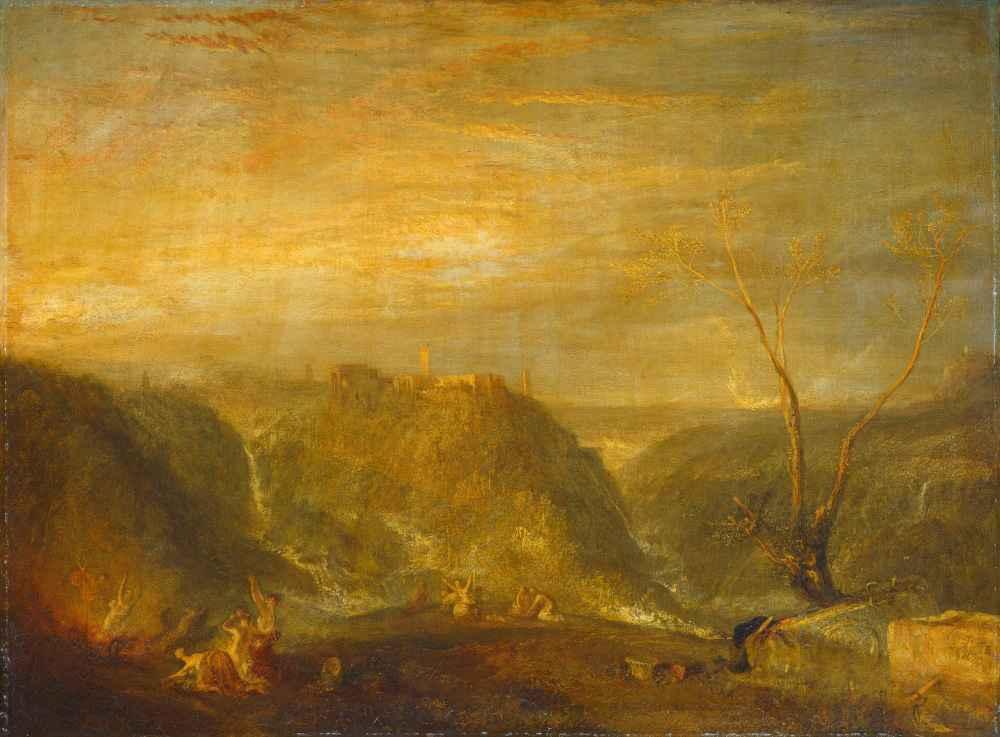 The Rape of Proserpine - Joseph Mallord William Turner