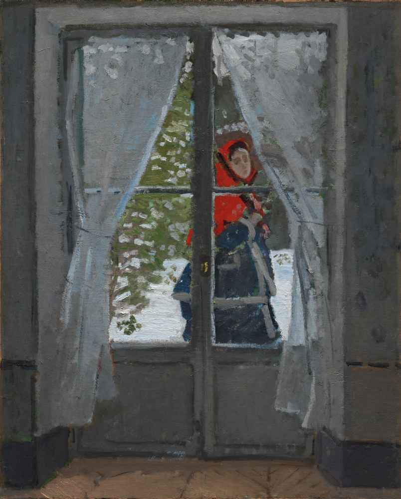 The Red Kerchief - Claude Monet