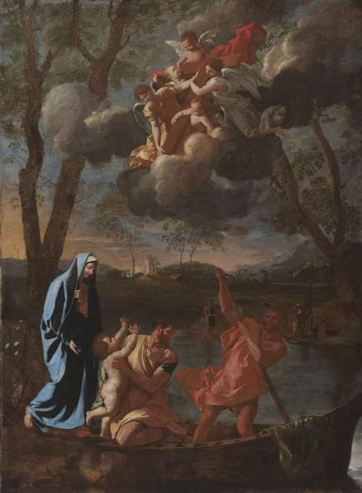 The Return of the Holy Family to Nazareth - Nicolas Poussin