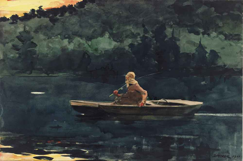 The Rise - Winslow Homer