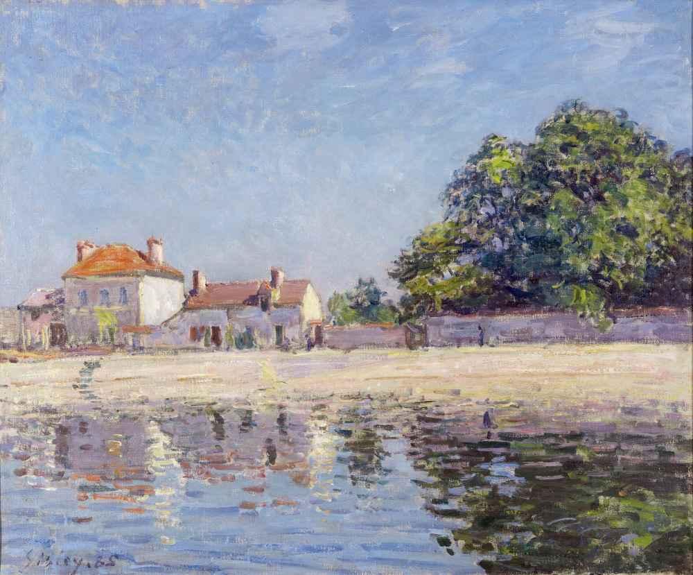 The River Loing at Saint-Mammes - Alfred Sisley