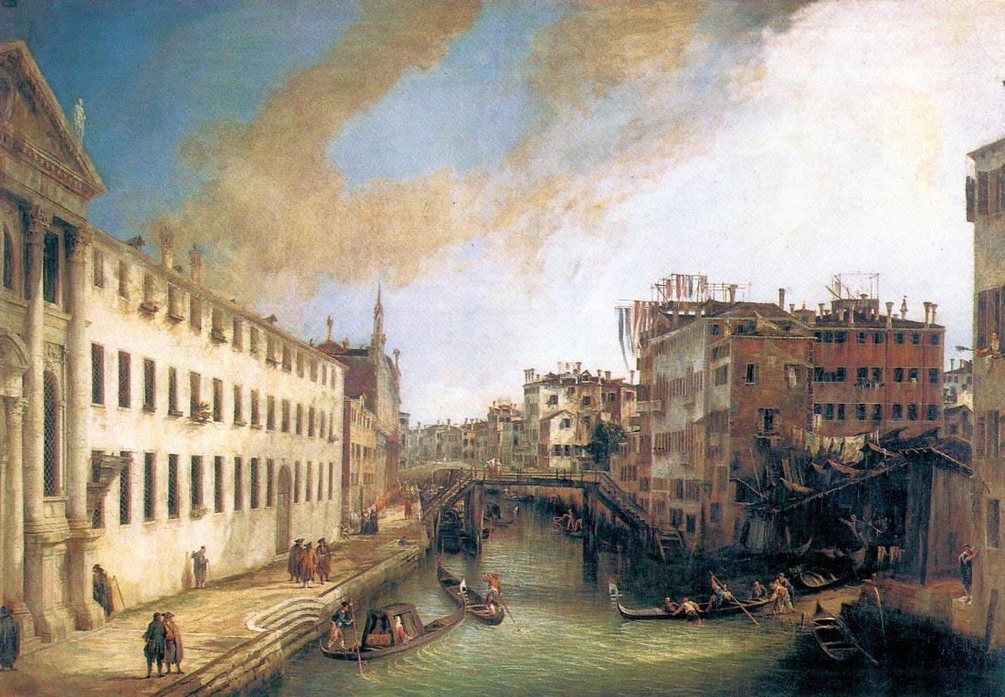 The River of Mendicanti - Canaletto