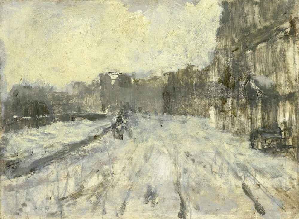 The Rokin, Amsterdam 3 - George Hendrik Breitner