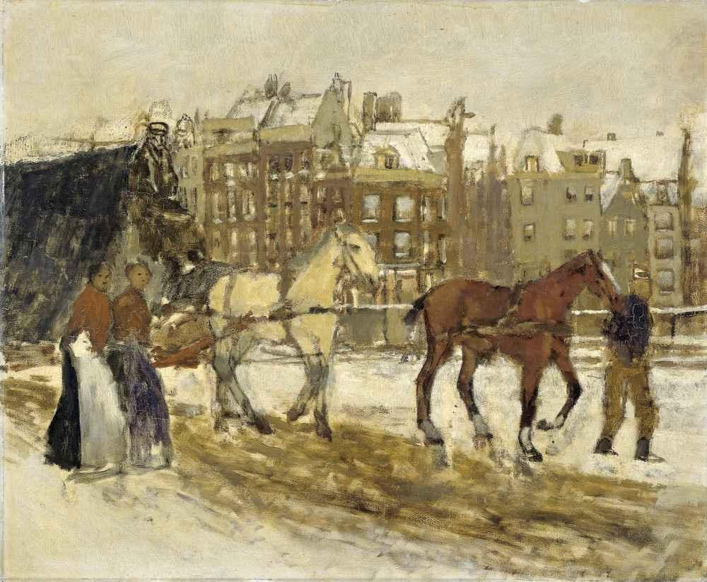 The Rokin, Amsterdam - George Hendrik Breitner