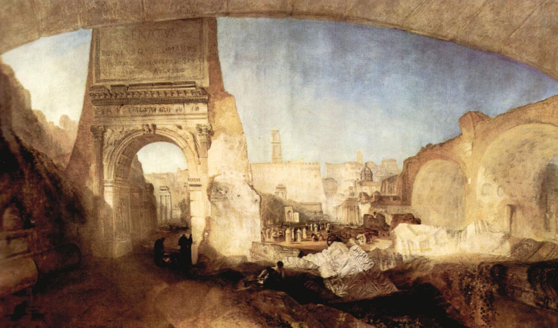 The Roman Forum, for Mr. Soane Museum - Joseph Mallord Turner