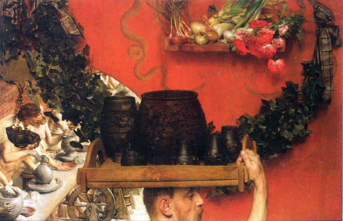 The Roman pottery in Britain - Alma-Tadema