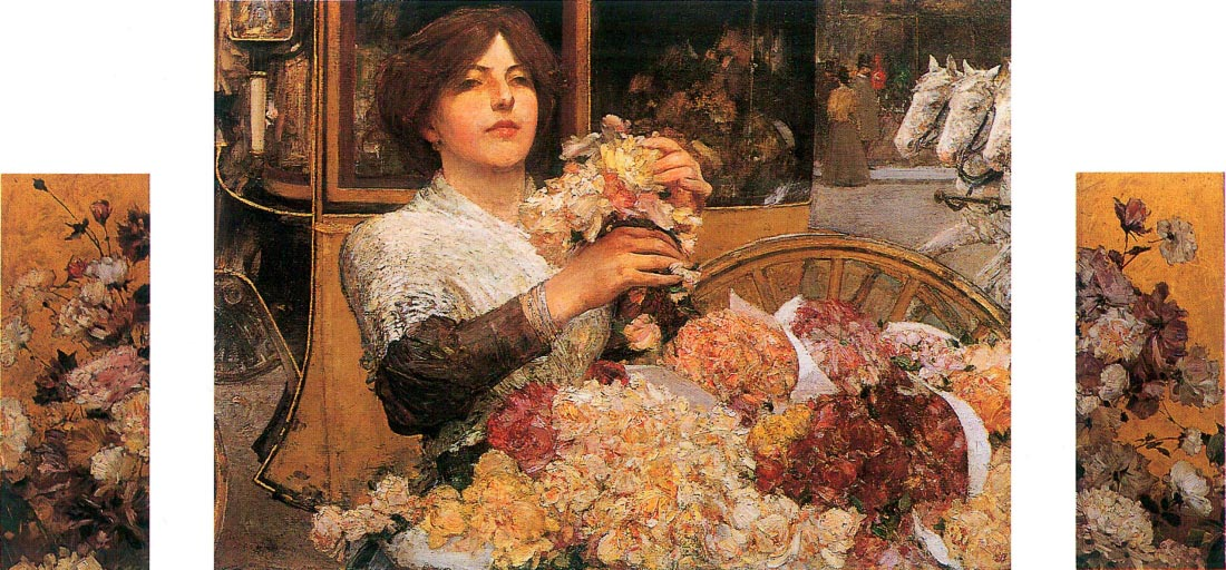 The Rose girls - Hassam