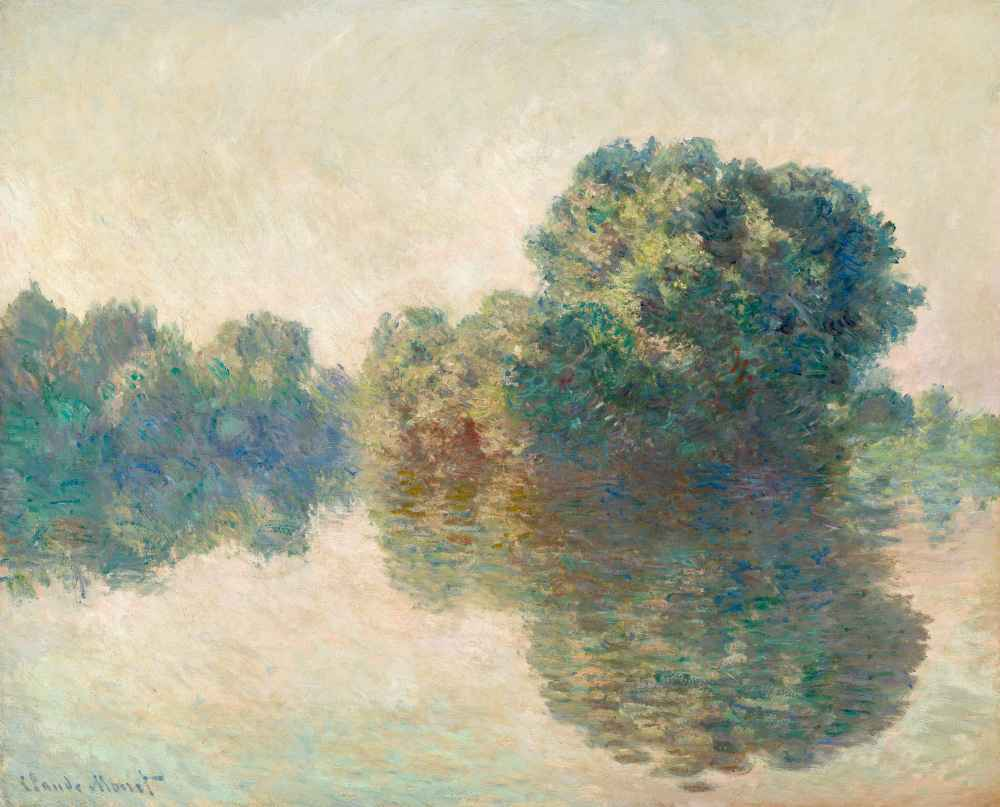 The Seine at Giverny - Claude Monet