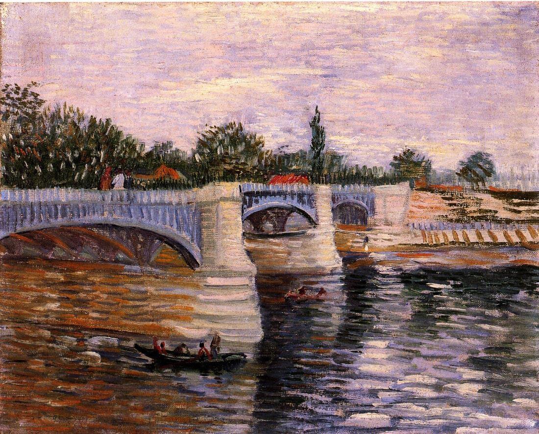 The Seine with the Pont de la Grande Jette - Van Gogh