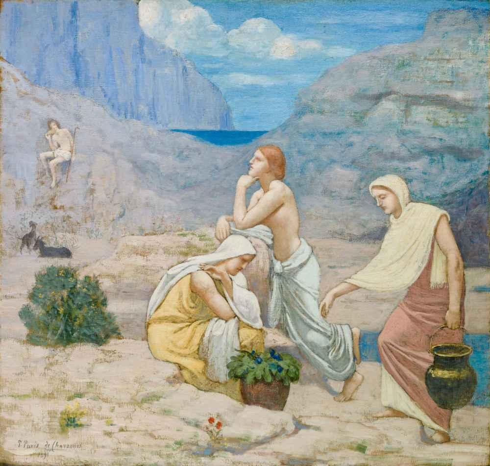 The Shepherds Song - Pierre Puvis de Chavannes