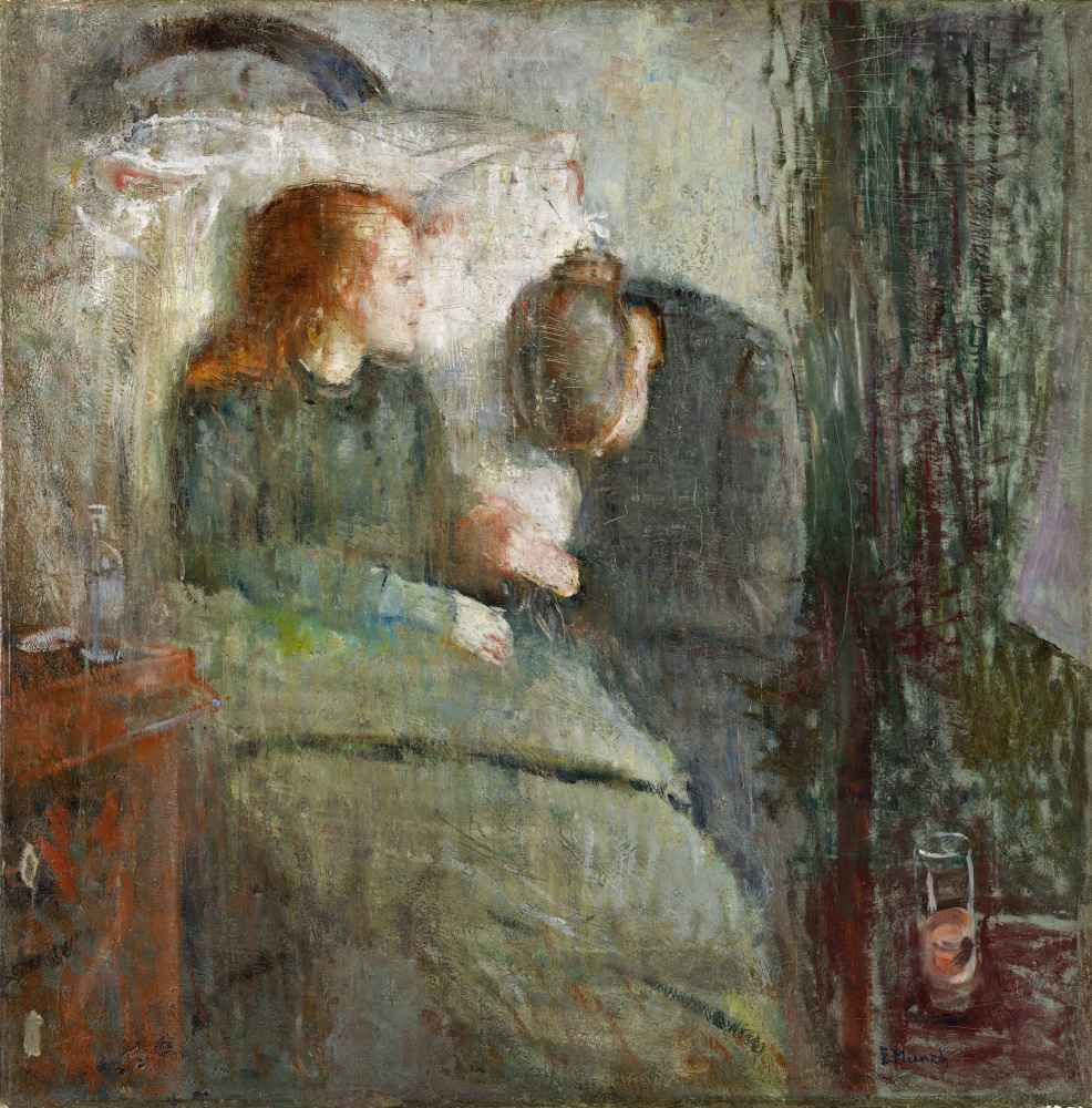 The Sick Child - Edward Munch