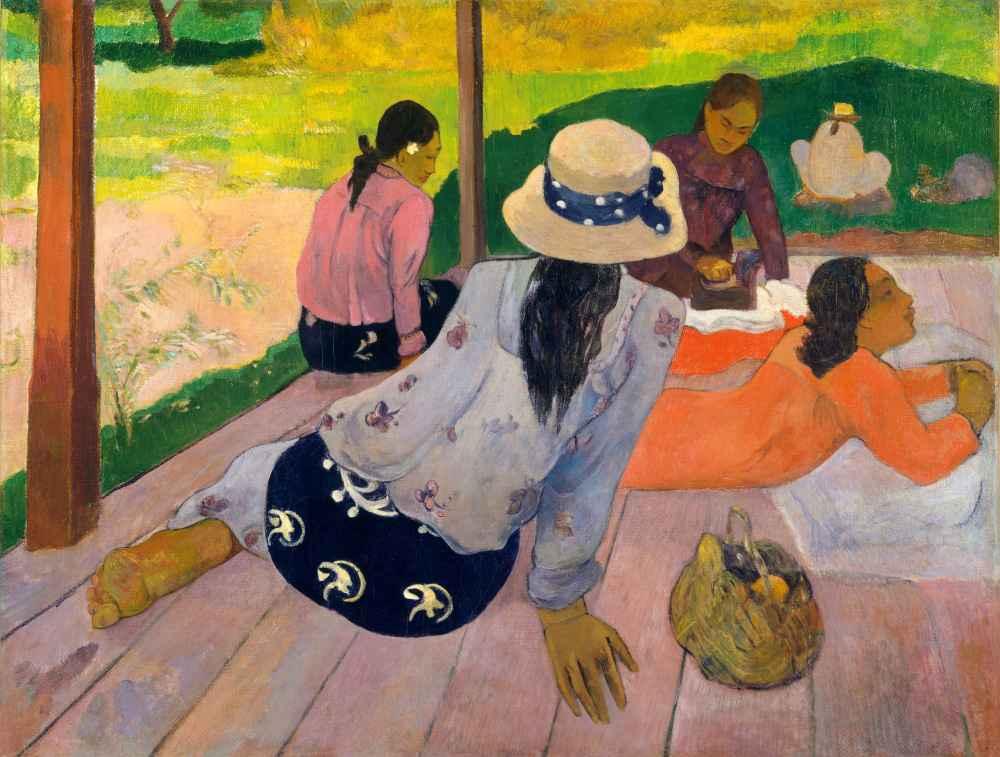 The Siesta - Paul Gauguin