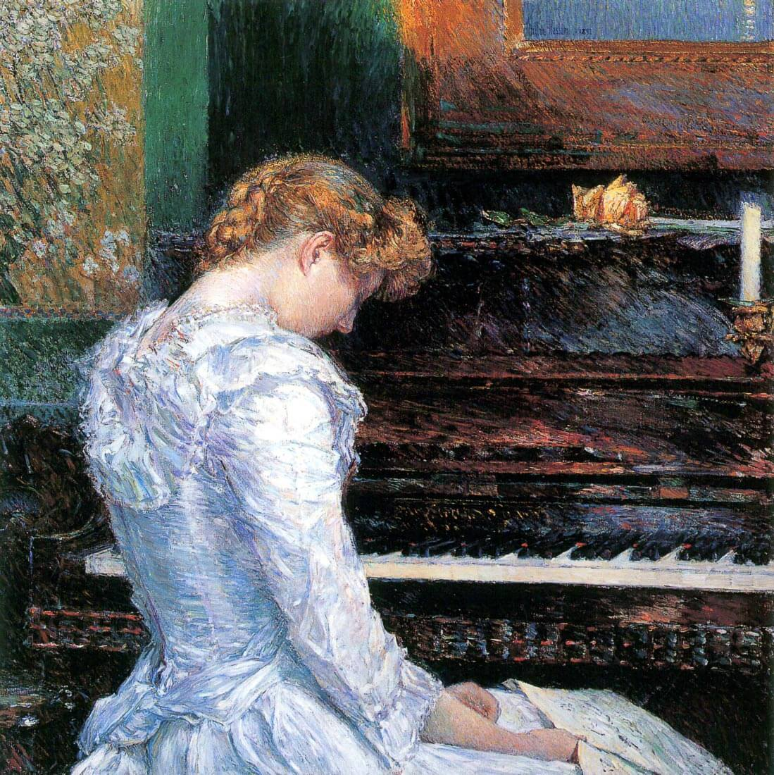 The Sonata - Hassam