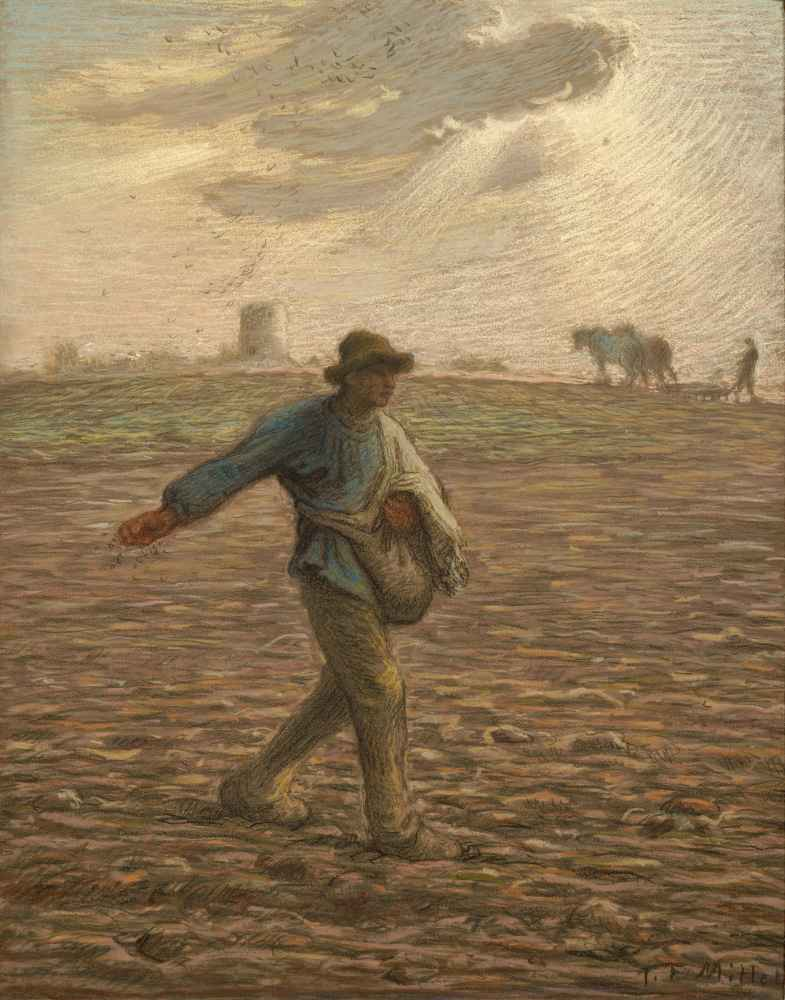 The Sower - Jean Francois Millet