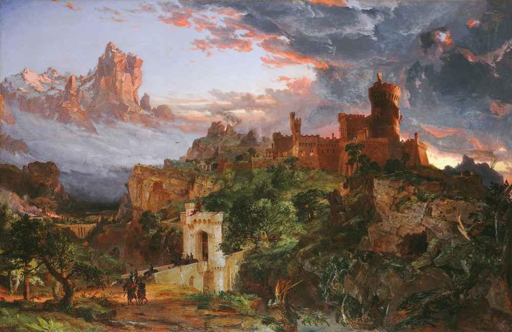 The Spirit of War - Jasper Francis Cropsey