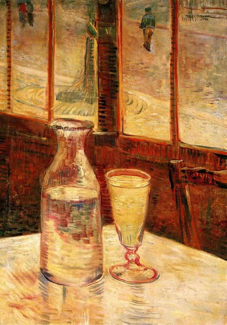 The Still Life with Absinthe - Van Gogh