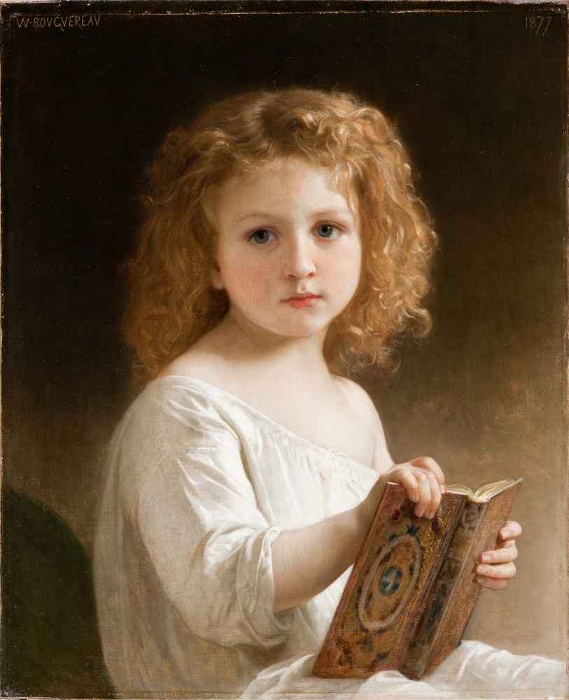 The Story Book - William-Adolphe Bouguereau