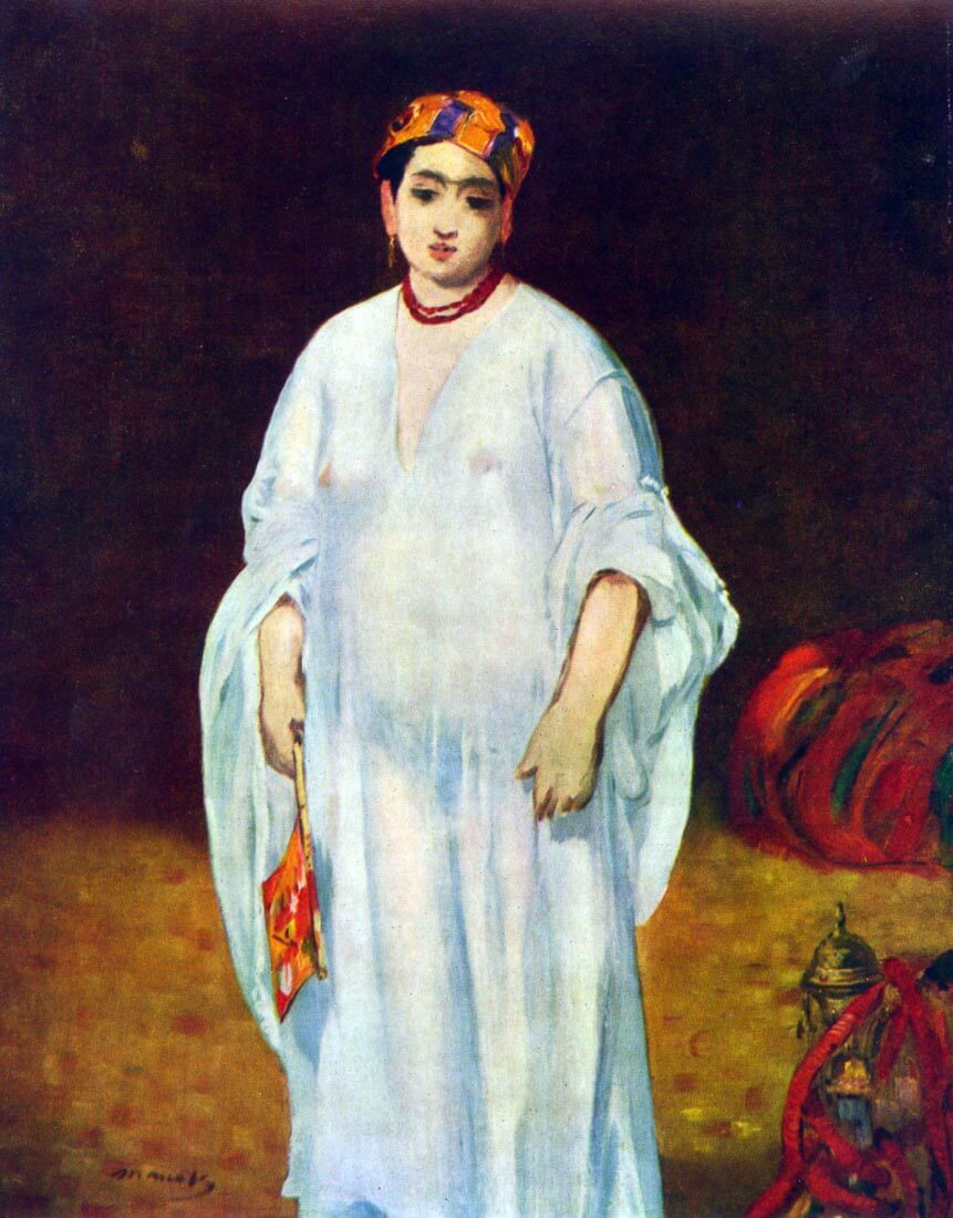 The Sultan - Manet