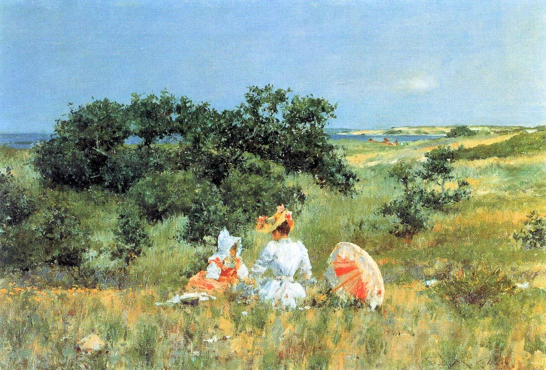 The Tale - William Merritt Chase