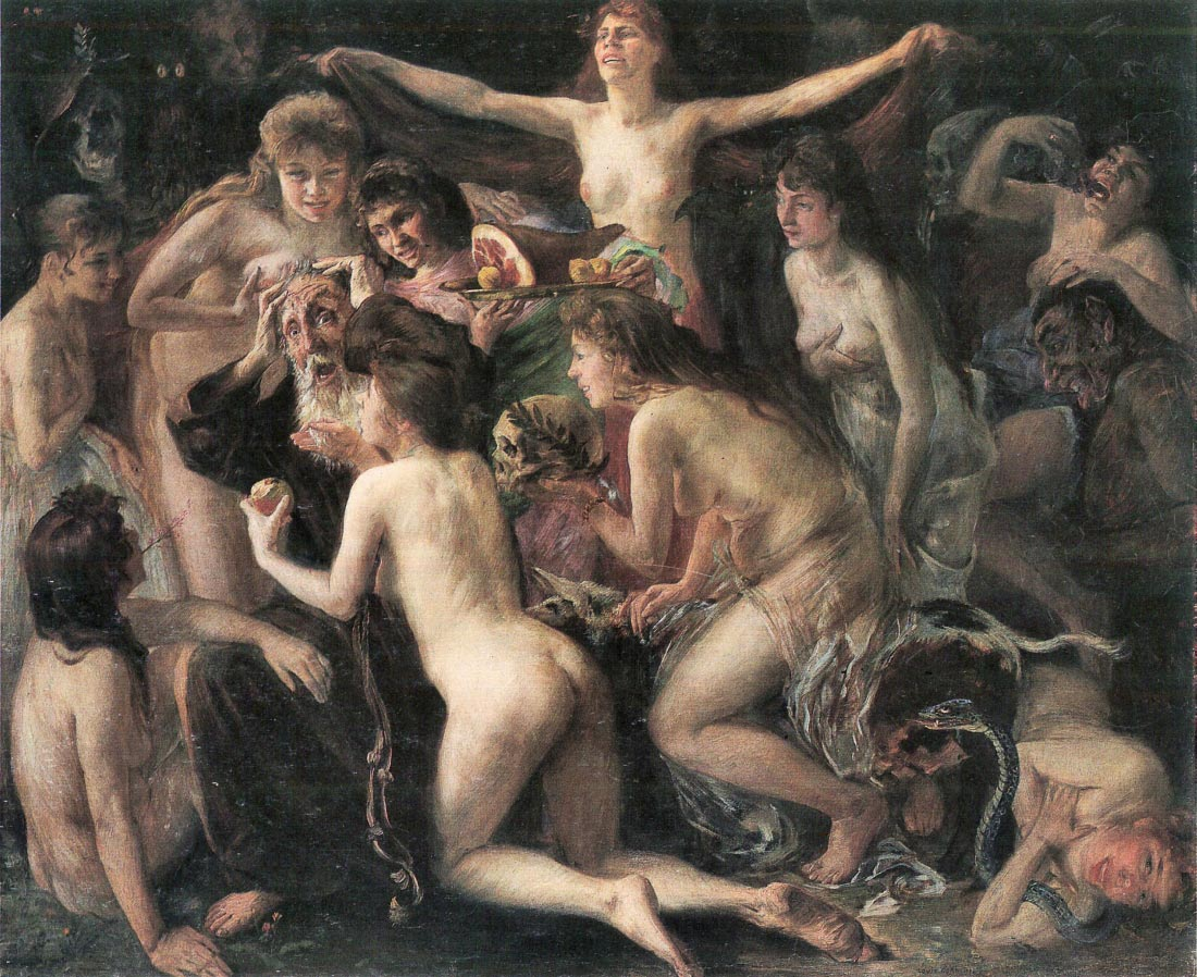 The Temptation of St. Anthony - Lovis Corinth