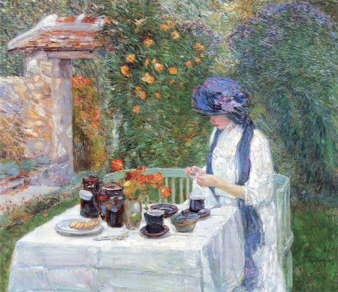 The Terre-Cuits Tea Set - Hassam