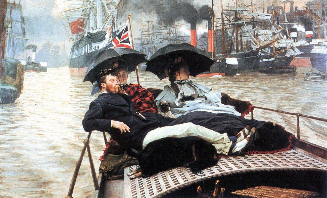 The Thames - Tissot