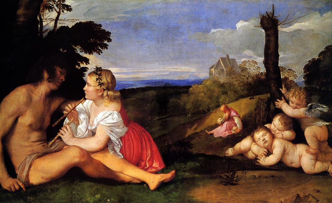 The Three Ages of Man - Titian