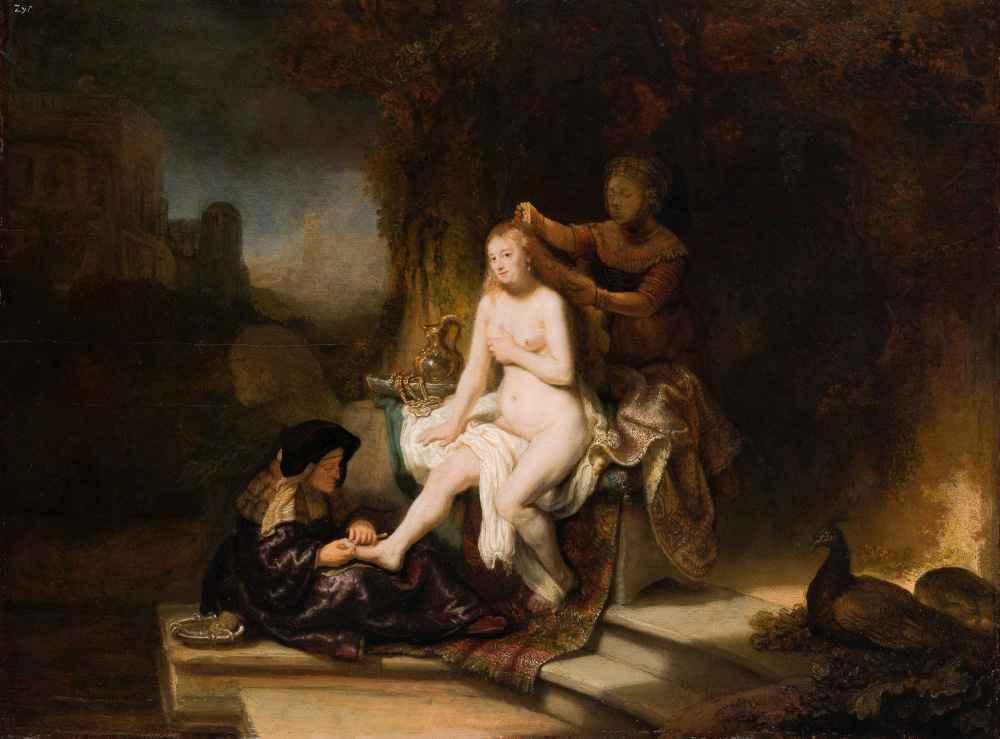 The Toilet of Bathsheba - Rembrandt Harmenszoon van Rijn