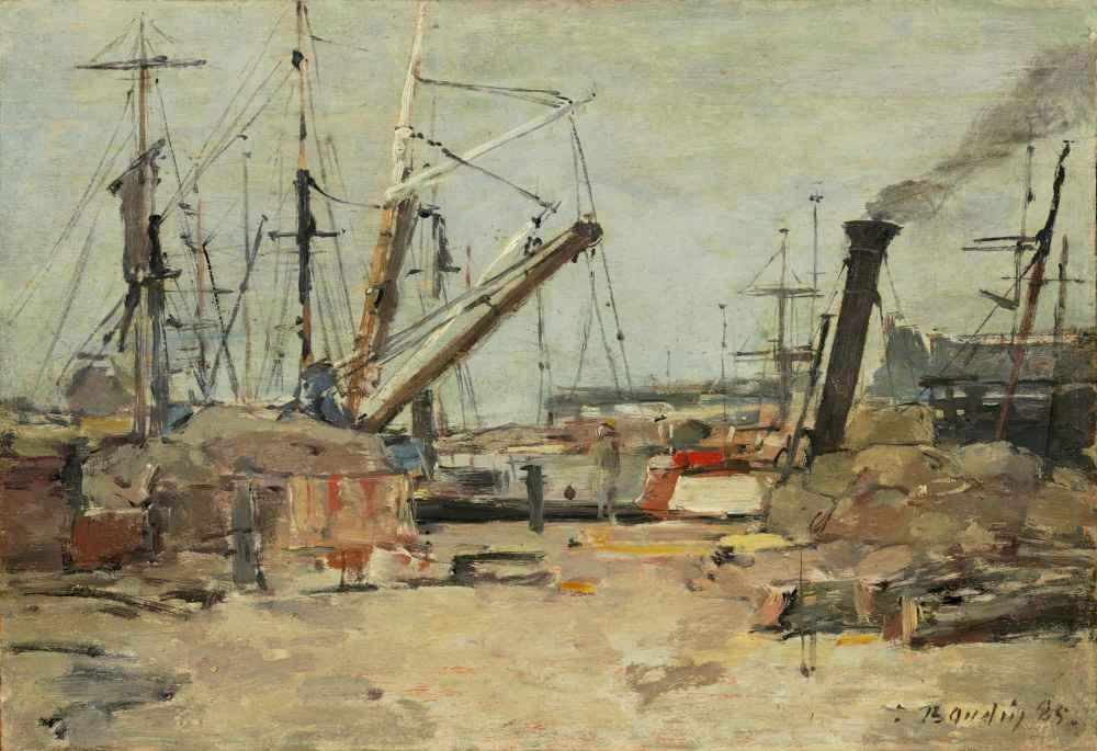 The Trawlers - Eugene Boudin