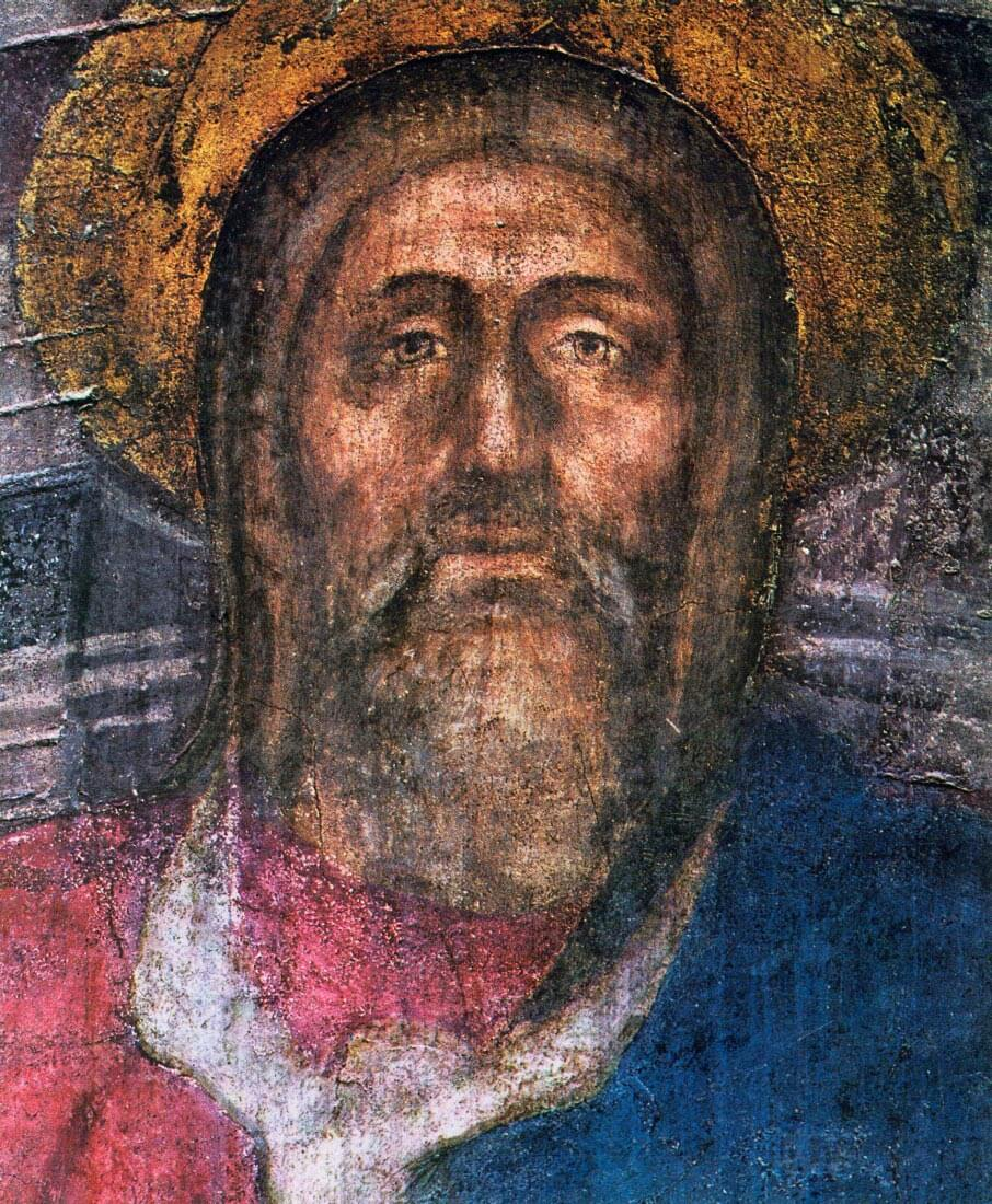 The Trinity Detail - Masaccio