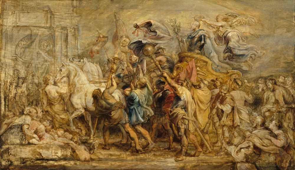 The Triumph of Henry IV - Peter Paul Rubens