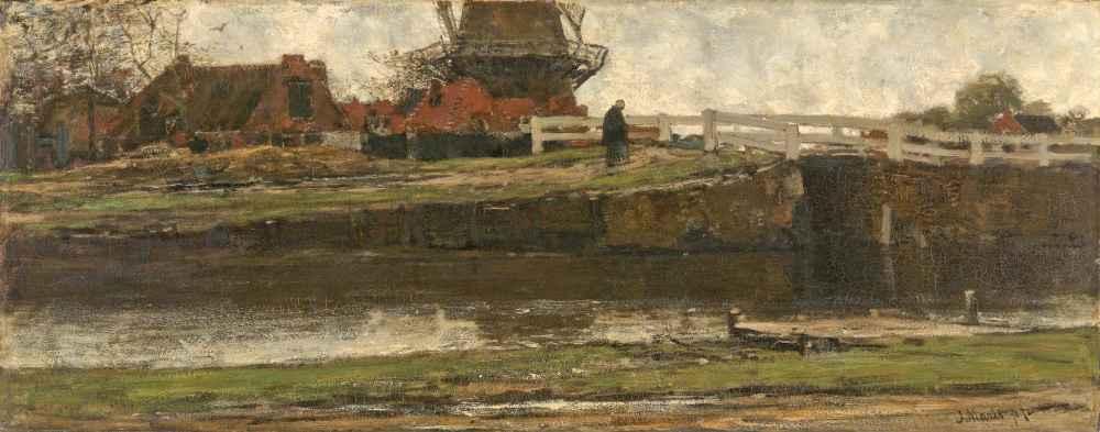 The Truncated Windmill - Matthijs Maris