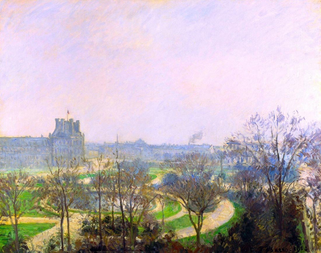 The Tuileries Garden - Pissarro