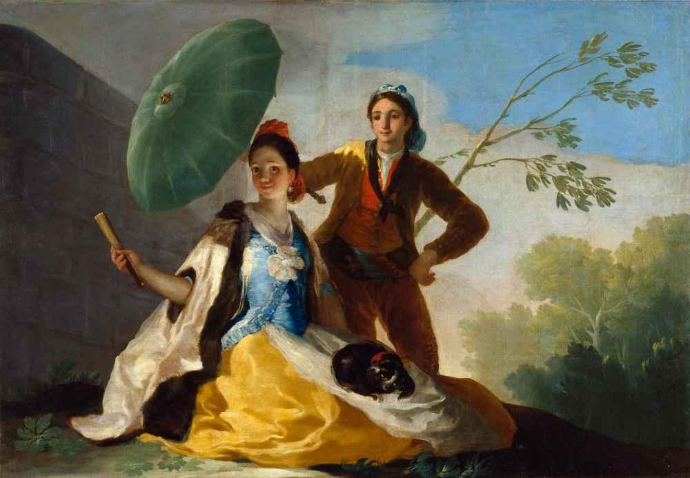 The Umbrellas 2 - Francisco Goya