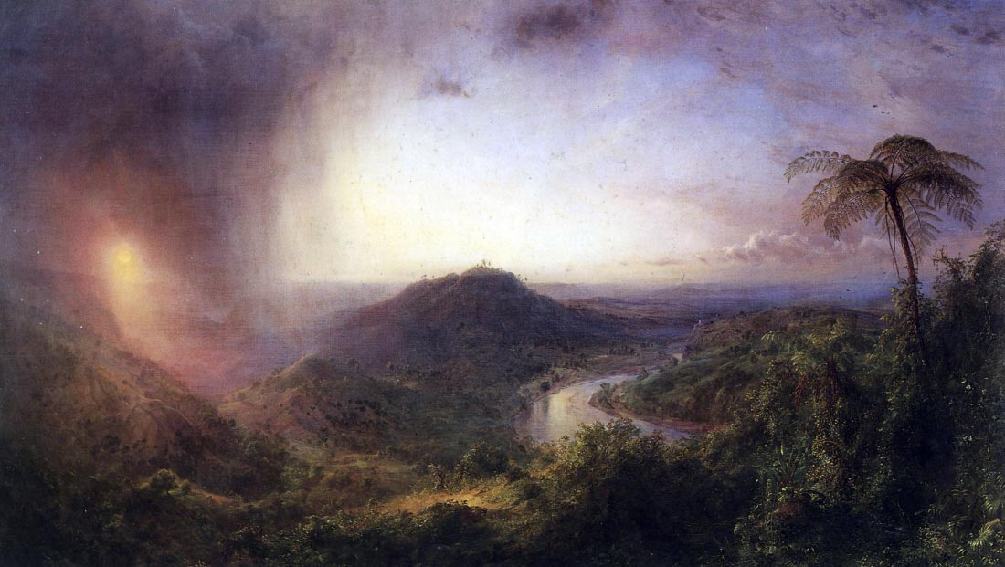 The Valley of St. Thomas, Jamaica - Frederick Edwin Church