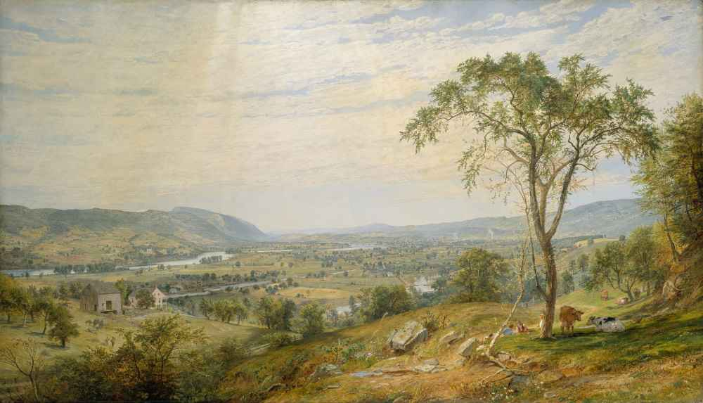 The Valley of Wyoming - Jasper Francis Cropsey