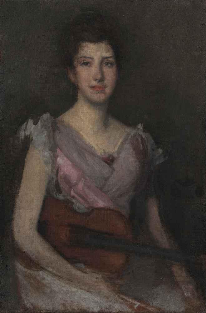 The Violin Player - James Abbott McNeill Whistler