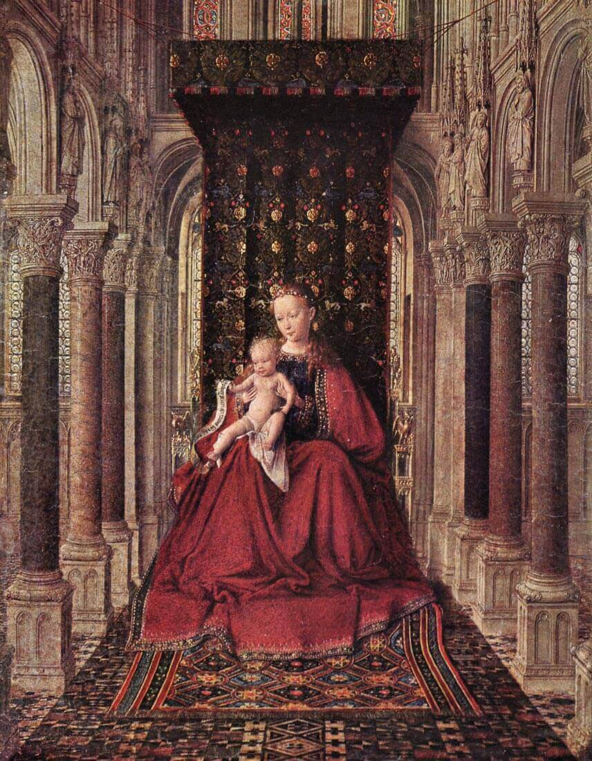 The Virgin and Child - Jan Van Eyck