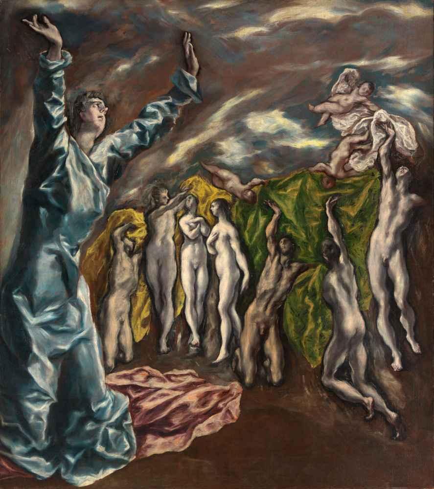 The Vision of Saint John - El Greco